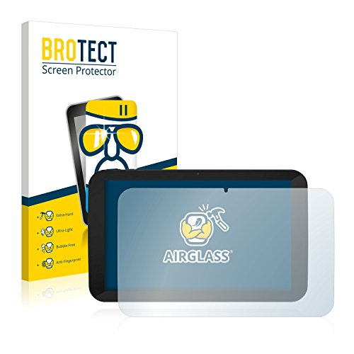 BROTECT Panzerglas Schutzfolie kompatibel mit TrekStor SurfTab xiron 10.1 3G (Volks-Tablet mit 3G) - 9H Extrem Kratzfest, Anti-Fingerprint
