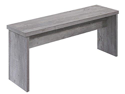Unbekannt Sitzbank Esstischbank Beton-Optik 90 cm