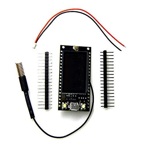 ICQUANZX Lora SX1278 ESP32 0.96OLED 16 MT Bytes (128 MT bit) 433 MHz para Placa de módulo de circuitos Integrados Arduino