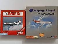 1500 ボーイング707 herpa ヘルパ B707 ボーイング727-100 StarJets B727-100 第1、2世代ジェット旅客機