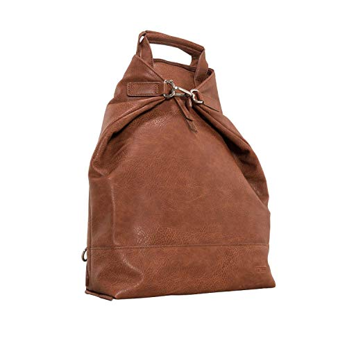 Jost Merritt XChange Bag S (midbrown) Rucksack braun aus 100% Leder