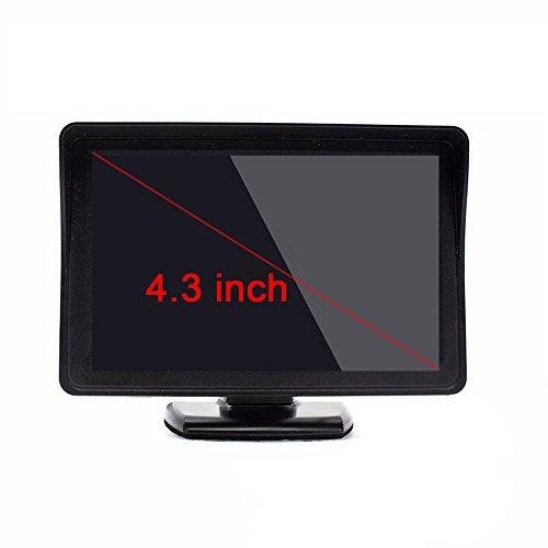 4.3 Zoll Digital TFT LCD Anzeige 2 Video-Eingang Rückfahrkamera Monitor Mini DVD VCR Auto Monitor mit Rückfahrkamera Unterstützung DVD VCD STB Satelliten Receiver andere Videogeräte