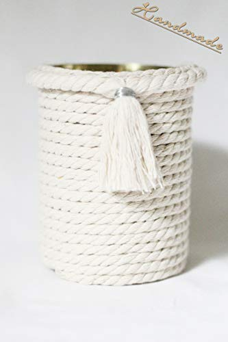 Dekodose Dose Troddel Kordel Vase handmade