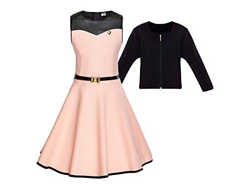 cocomini Kleid mit Bolero für Mädchen schön elegant bequem EXPRESSVERSAND mit DPD (164)