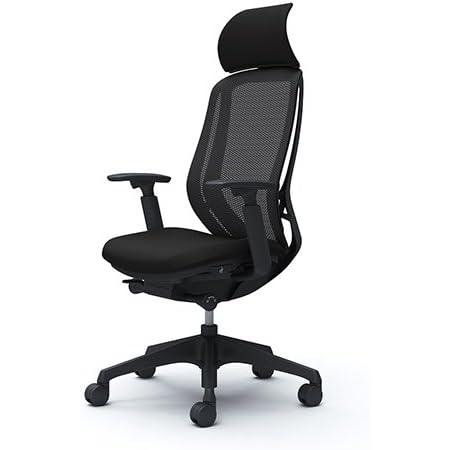 オカムラ オフィスチェア シルフィ― エキストラハイバック メッシュ アジャストアーム 樹脂脚 ブラックフレーム C68AXR-FMP1 ブラック