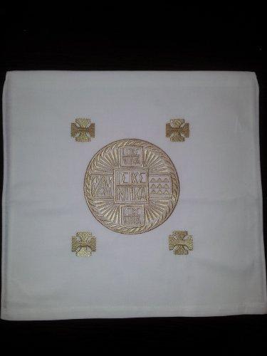 Christian Orthodox Greek Prosphora / Holy Bread Pouch No.5