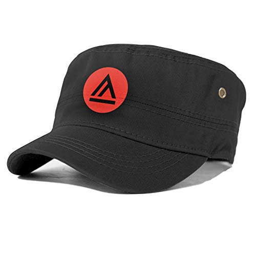 Academy A of Art University Logo Adult Flat Caps Mens and Womens Dad Hats Baseball Black Cap Easily Adjustable Suitable for Sports, Outdoor, Daily, Unisex Adult Flat Cap.