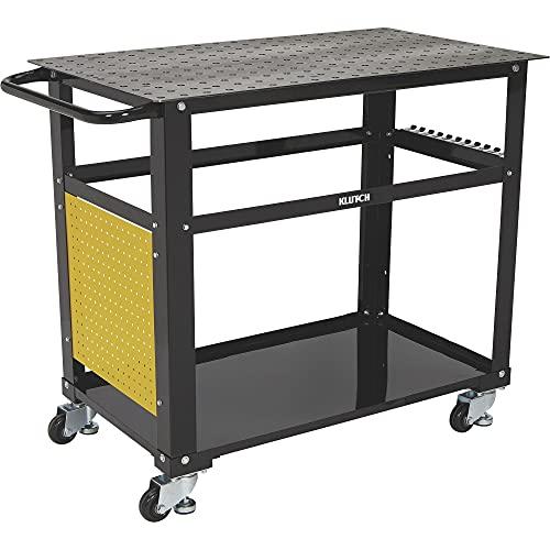 Klutch Mobile Welding Workstation 26-Pc. Metal Fit-Up Kit
