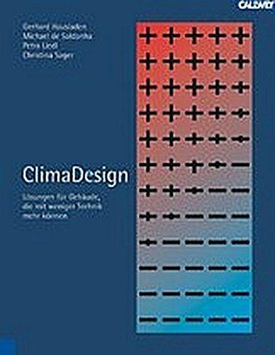 ClimaDesign: Lösungen für Gebäude, die mit weniger Technik mehr können