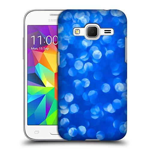 Head Case Designs Ufficiale PLdesign Blu Bokeh Cover Dura per Parte Posteriore Compatibile con Samsung Galaxy Core Prime
