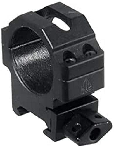 UTG Max Strength Picatinny Rings, 2-Pieces 30mm Diameter, Low Profile, Black