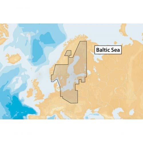 Navionics+ Seekarte (Large/XL9) Medium SD/microSD-Karte, Abdeckungsbereich 44XG - Ostsee