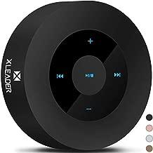 XLEADER SoundAngel (2 Gen) 5W Louder Bluetooth Speaker with Waterproof Case, 15h Music, Smart Touch Design, Perfect Portable Wireless Bluetooth Speaker for iPhone Tablet Laptop PC Shower, Black