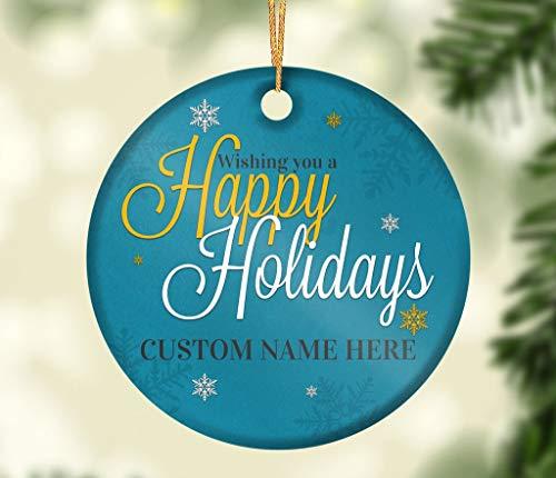 Dozili Happy Holidays Porzellanfigur, 7,6 cm