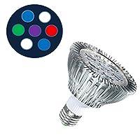 加湿器クリーナーフィッシュ 海洋水族館LEDランプ21W LED植物成長ライト白青ランプPAR30フルスペクトラムサンゴ水槽水族館SPS LPS (Color : 7A)