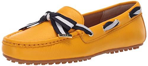 Lauren Ralph Lauren Women's Becka Driving Style Loafer, Sunflower, 9 B US