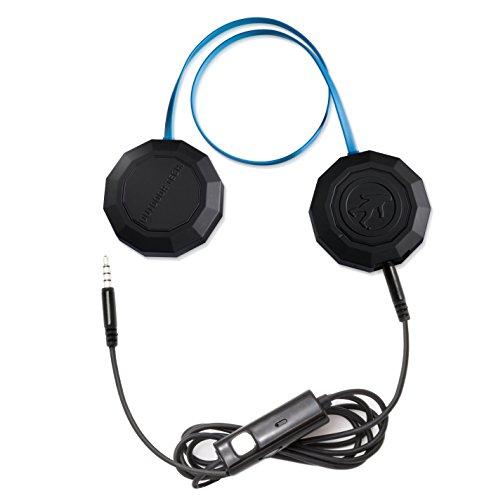 Outdoor Tech Wired Chips Mobiles Headset Binaural Helm Schwarz, Blau Verkabelt - Mobile Headsets (Verkabelt, Helm, Binaural, Ohraufliegend, Schwarz, Blau)