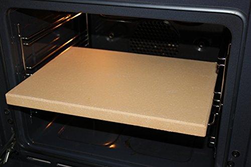 Kaminprofi24 Pierre réfractaire/chamotte pour pizza, pain,...