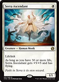 Wizards of the Coast Serra Ascendant - Foil - Iconic Masters