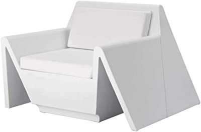 Vondom Rest Armchair for Outdoor White