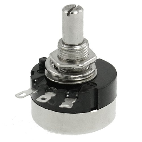 Uxcell a11121400ux0235 200K Ohm 2W Electrical Variable Resistor Rotary Potentiometer