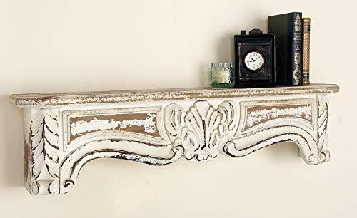 Deco 79 Wood Wall Shelf, 36 by 9'