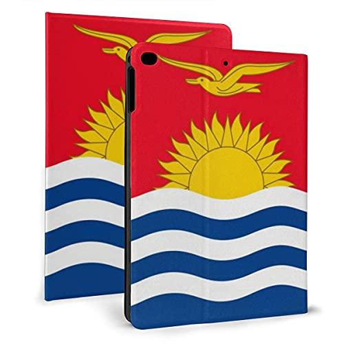 Bandera de Kiribati Flip Funda de piel sintética para iPad Mini4/5 7.9 pulgadas, soporte giratorio inteligente magnético automático despertar/dormir cubierta casos
