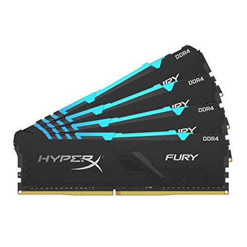 HyperX Fury 32GB 3600MHz DDR4 CL17 DIMM (Kit of 4)...