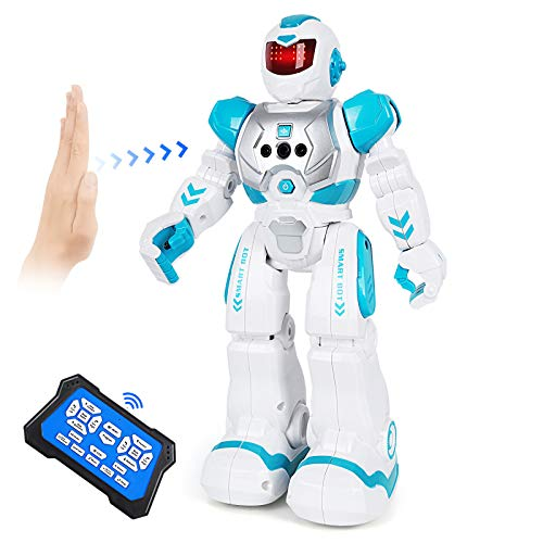 ARANEE Roboter Kinder Spielzeug, Intelligente Roboter Kinder Spielzeug mit Infrarot-Controller-Spielzeug, Tanzen, Singen, LED-Augen, Gestenerkennung Kinder (Grün)