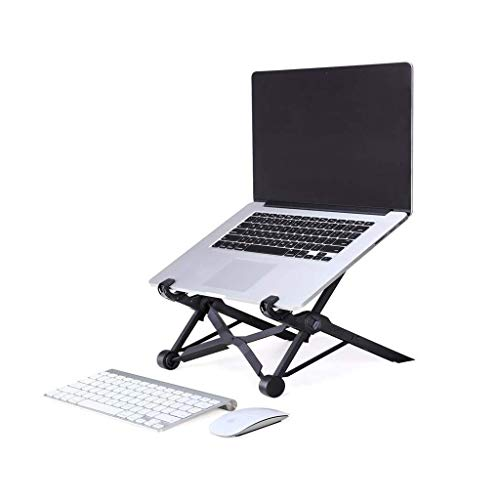 Laptop Stand Folding Laptop Stand Portable Notebook Stand Lifting Computer Stand Adjustable Heat Dissipation, Compatible with PC and MacBook