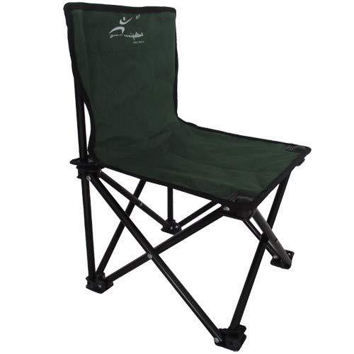 STARKWALL Chaise De Plage Mobilier De Jardin Meubles De Camping Chaise Kamp Sandalyesi Chaise De Pêche Pliante Oxford + Tube en Acier 44 * 43 * 47cm Sombre