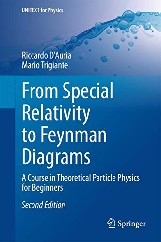 From Special Relativity to Feynman Diagrams: A Course in Theoretical Particle Physics for Beginners (UNITEXT for Physics
