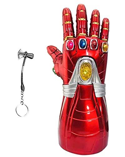 Iron Man Infinity guanto da bambino elettronico infinito guanto infinito pietra infinito luce up Halloween Cosplay Prop.