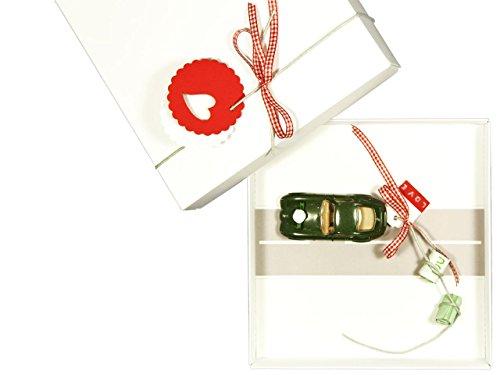 Geldgeschenk Verpackung für Hochzeit: Auto (Bahn) rot, Hochzeitsgeschenk Geld schenken verschenken