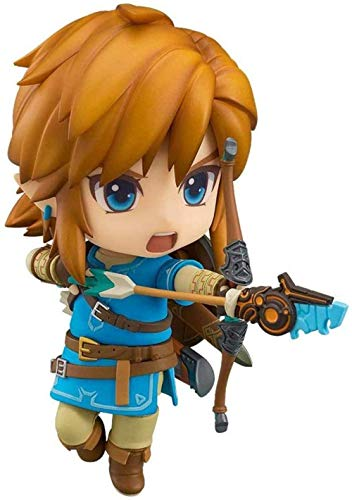 tian tian baby Legend of Zelda: Breath of The Wild Nendoroid Ver. Enlace Figura Pop Estatua en Caja 3.9