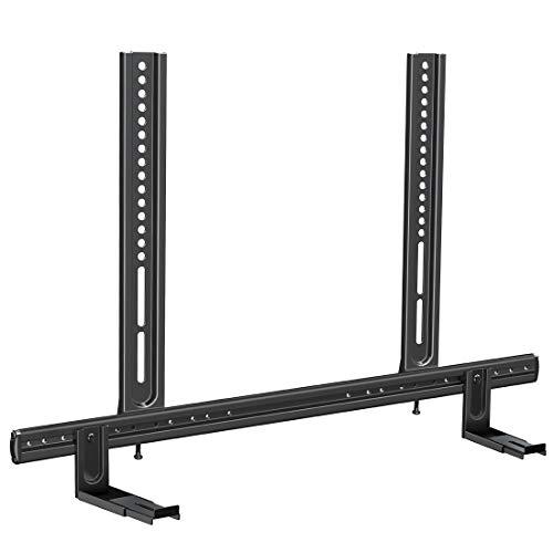 "Mounting Dream Universal Soundbar Mount, Heavy Duty Soundbar Wall Mount for Most Sound Bars Up to 26.5 LBS, Sound Bar TV Bracket Height Adjust,No-Slip Base Holder Extends 3.44""-6.06"", MD5428"