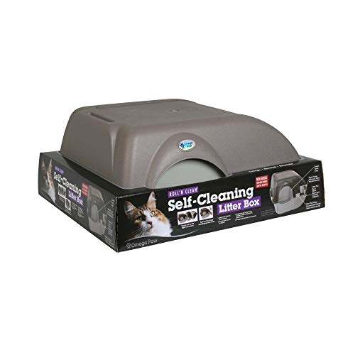 Omega Paw Self-Cleaning Litter Box, Large