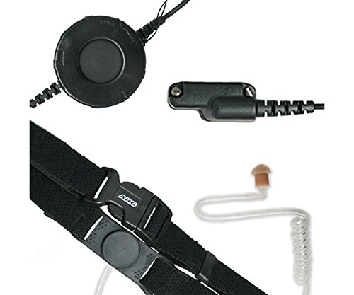 Great Price! ARC T25024 Neck Strap Tactical Throat Mic for Vertex Standard VX-530 537 600 800 & 900 ...