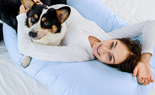 Meiz U-shaped pregnancy pillow