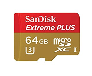 SanDisk Extreme Plus microSDXC 64GB UHS-I Class 10 U3 Speicherkarte bis zu 80MB/s lesen (B00D6XTMFC) | Amazon price tracker / tracking, Amazon price history charts, Amazon price watches, Amazon price drop alerts