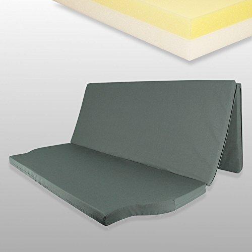 Fränkische Schlafmanufaktur Duo Matratze für T4/5/6 Multivan, Klappmatratze148x185x7cm