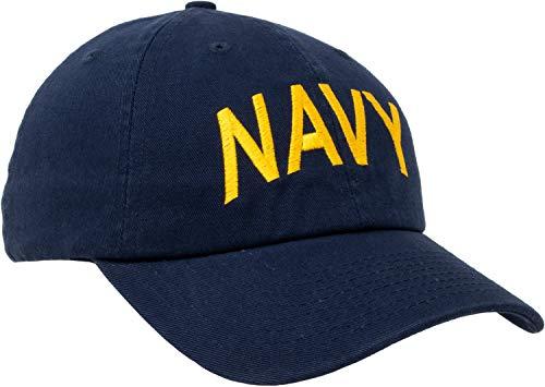 100% USA Made Navy Hat | United States Military Naval Sailor Baseball Cap Men