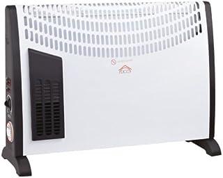 DCG Eltronic TC30TT Color blanco 2000W Radiador - Calefactor (Radiador, Piso, Color blanco, 2000 W, 1000 W)