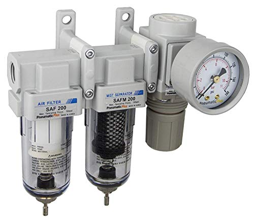 PneumaticPlus SAU230-N02G Three Stage Air Drying System, 1/4