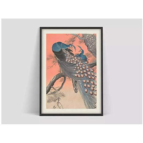 Cartel japonés mural, cartel de arte japonés, impresión d