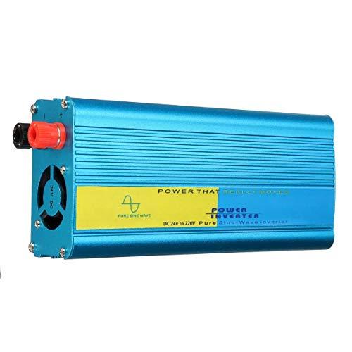 N\A Coche inversor de energía De Onda sinusoidal Pura inversor de la energía Inteligente 1200W 12V / 24V a 220V (Voltage: : 12V)
