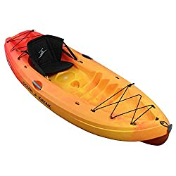 Best Recreational Kayak Ocean Kayak Frenzy Sit-On-Top Recreational Kayak