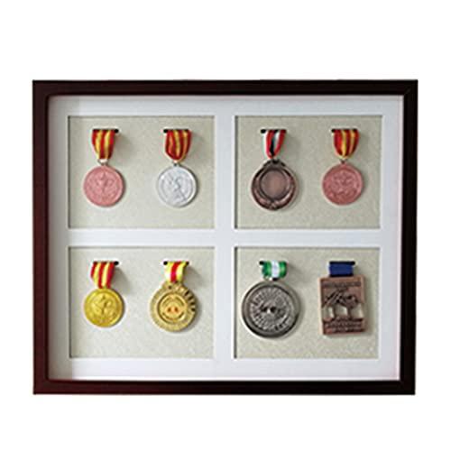 Mr.LQ Medaillenbox, Medaillenanzeige, Schaufenster Für Medaillen Und Medaillen Medaillenrahmenhalter Schaufenster Medaillenbox Medaillenanzeige Rahmen Medaillenanzeige