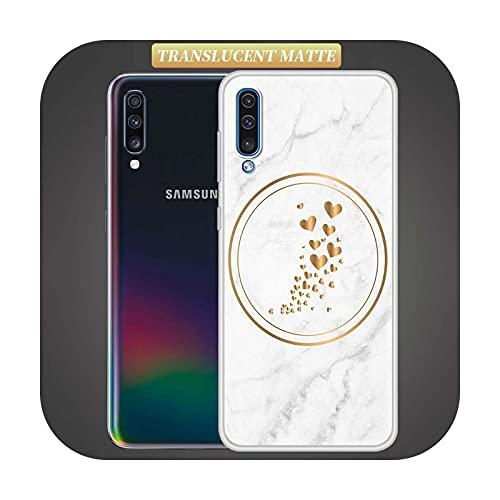 Lindo patrón de Phink para Samsung Galaxy A50 A10 A70 A40 A20s A10 A10e translúcido mate Shell teléfono Coque Sac Capas-S09-para Samsung A10e