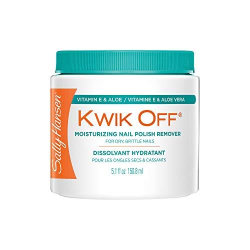Sally Hansen Kwik Off Nail Color Remover with Vitamin E and Aloe, 5.1 Fluid Ounce